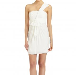BCBG Max Azria White Palais Dress