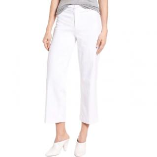 Paige Nellie High-Rise Denim Culottes