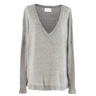 Lounge Lover Grey Knit Jumper