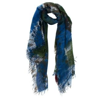 Faliero Sarti Multicolored Cashmere Blend Shawl