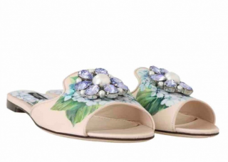 Dolce & Gabbana Hydrangea Print Slides