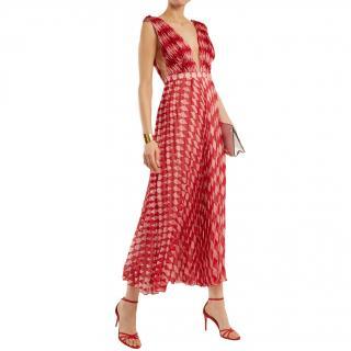 Raquel Diniz Alexa Harlequin Print Gown