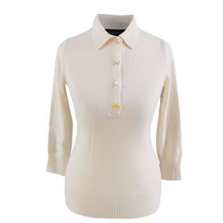 Ralph Lauren Black Label Cashmere Polo Shirt