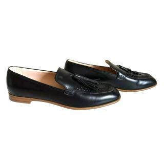 Tod's Leather Tasseled Loafers