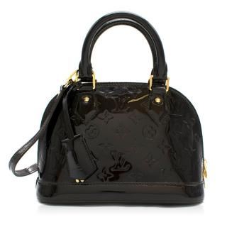 Louis Vuitton Amarante Mongram Vernis Leather Alma BB Bag
