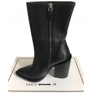 Jil Sander Block Heel Ankle Boots