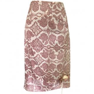 Day Birger et Mikkelsen Lace Overlay Satin Skirt