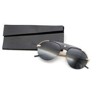 Dio(r)evolution pilot-frame sunglasses