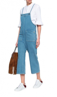 Maje Pinaro Denim Jumpsuit