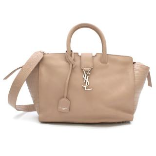 Saint Laurent Blush Pink Small Monogram Downtown Cabas Tote