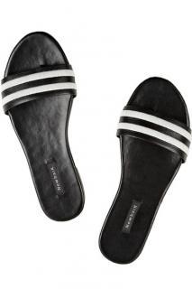Newbark Striped Roma Sandals