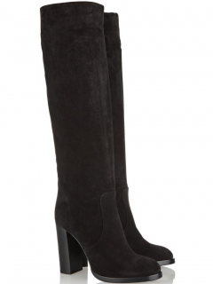 Michael Kors Collection Malbon Suede Knee Boots