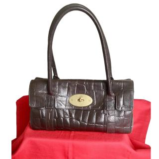 Mulberry Croc Embossed East West Bayswater