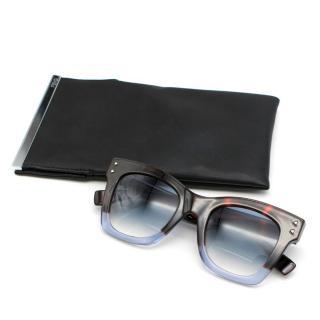 Fendi FF 0237 IPR Square Tortoiseshell Sunglasses