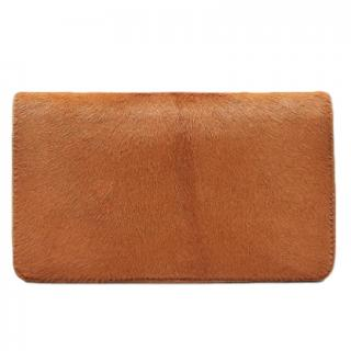 Diane Von Furstenberg Calf Hair Phone Wallet