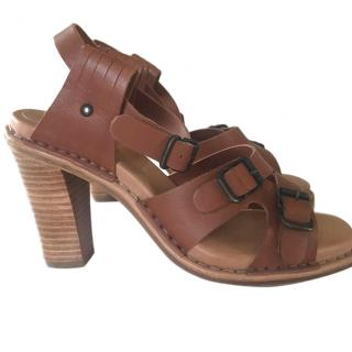 See by Chloe Tan Leather Sandals