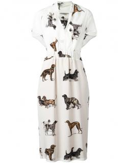 Stella McCartney Silk White Greta Dress