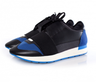 Balenciaga Black & Blue Race Runners