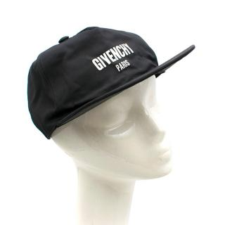 Givenchy Black Logo-embroidered Woven Baseball Cap