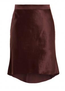 Raey Bias godet silk-satin slip skirt