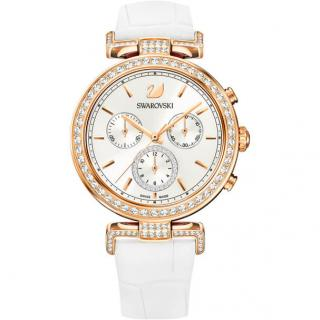 Swarovski Rose Gold & White Era Journey Watch