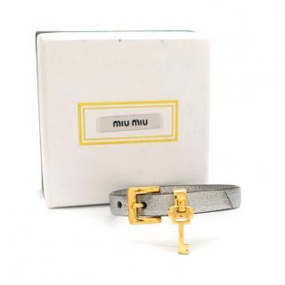 Miu Miu Silver Key Wrap Bracelet