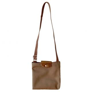 Longchamp La Pliage crossbody bag.
