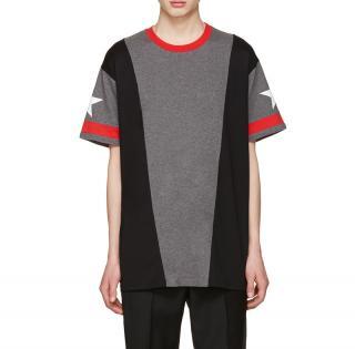 Givenchy Men's Colour Block Star T-Shirt