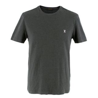 Louis Vuitton Grey Logo T-shirt