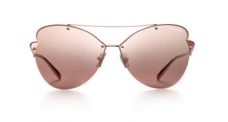 Tiffany Rose Gold Paper Flowers Butterfly Sunglasses