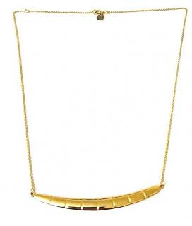Tartesia Juba Reversible Bar Necklace Gold