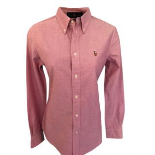 Ralph Lauren Pink Slim Fit Shirt