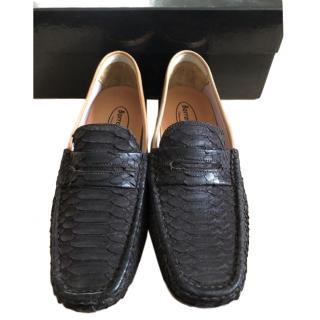 Barracuda Python Skin Loafers