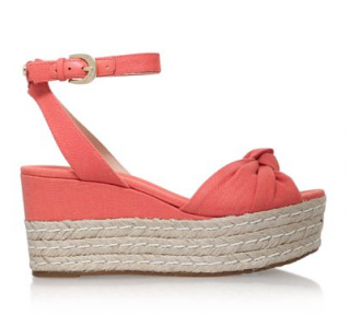 Michael Michael Kors Maxwell Mid Wedge Coral Sandals