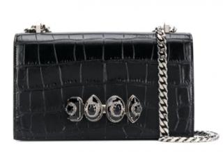 Alexander McQueen jewel handle cross-body bag