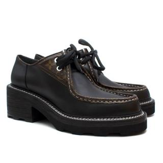 Louis Vuitton Beaubourg Platform Derby Shoes - New Season