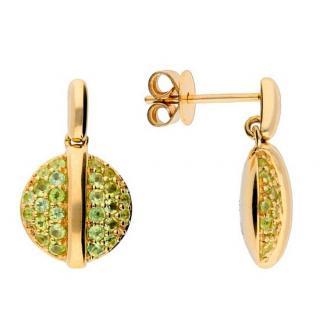 Fiorelli Peridot Drop Earrings