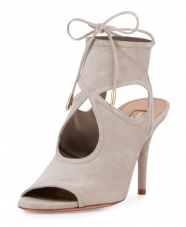Aquazzura Sexy Thing Suede 85mm Sandals