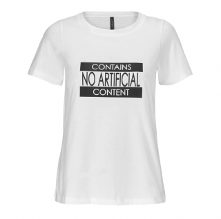 Mother of Pearl X Farmacy White No Artificial Content T-Shirt