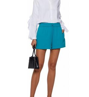 Alice + Olivia Blue Mini Shorts