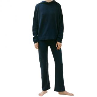 Van Store Navy Cashmere Track Pants