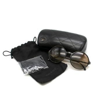 Chanel Round Gradient Sunglasses