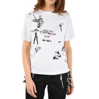 McQ White Cobra Club T-Shirt