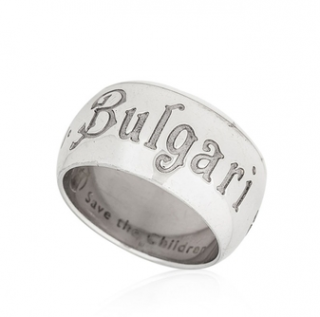 Bvlgari Save The Children Sterling Silver Ring
