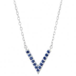 Sabine Getty Baby Memphis Sapphire Necklace