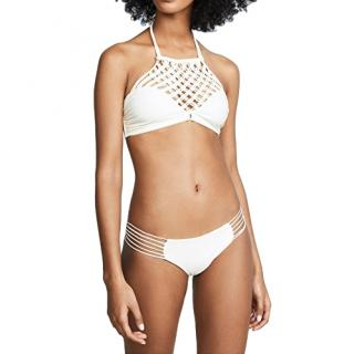 Mikoh Lanikai White Swim Top