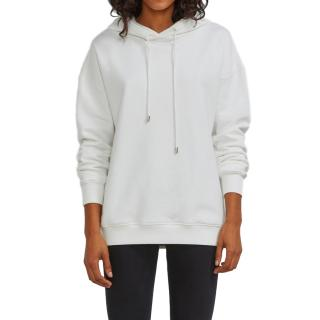 Ninety Percent White Cotton Hoodie