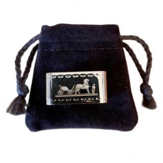 Hermes Bolduc scarf ring in box