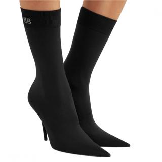 Balenciaga Stretch-jersey Sock Heeled Boots
