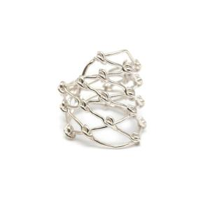 Gentle Monster Sterling Sliver Woven Ring